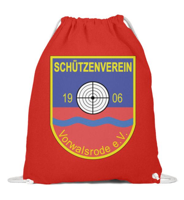 Sportbeutel Schützenverein Vorwalsrode - Baumwoll Gymsac-6230