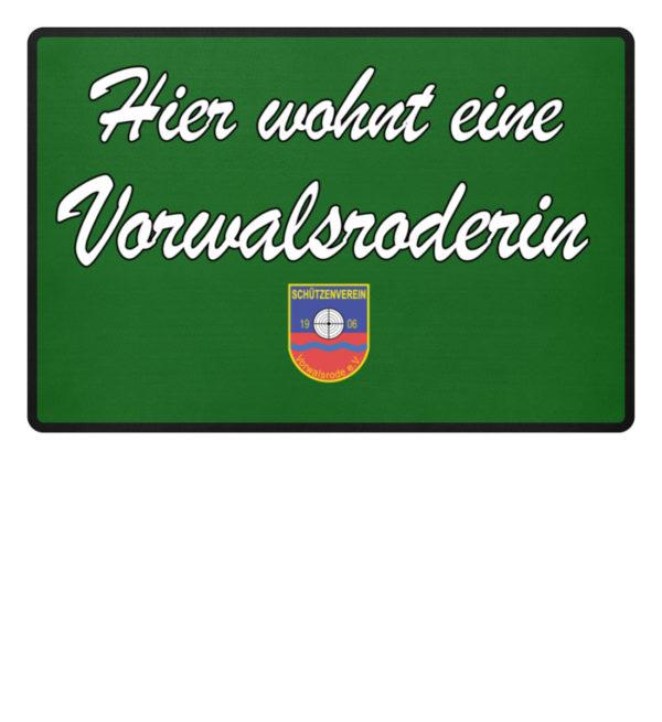 Fußmatte - Vorwalsroderin - Fußmatte-718