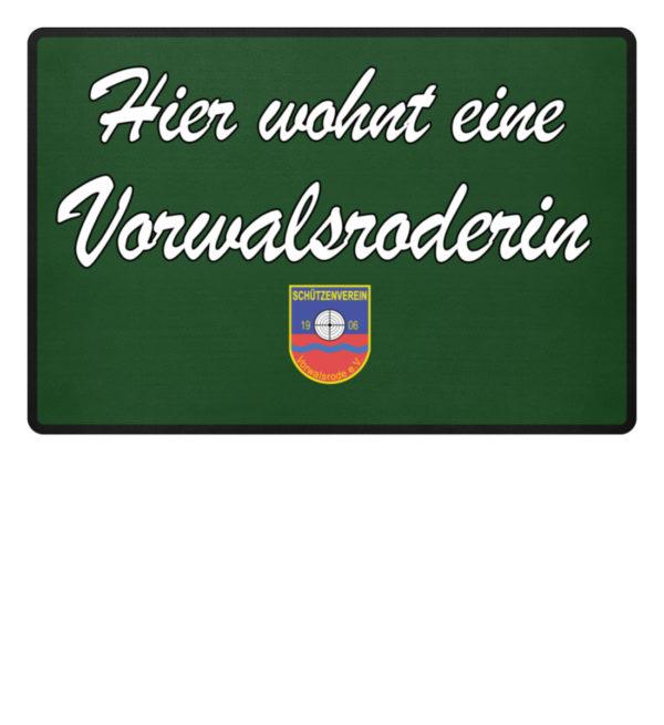 Fußmatte - Vorwalsroderin - Fußmatte-833